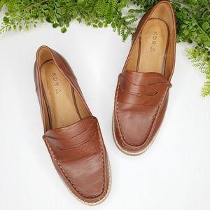 Kelsi Dagger brooklyn gabby penny loafer leather